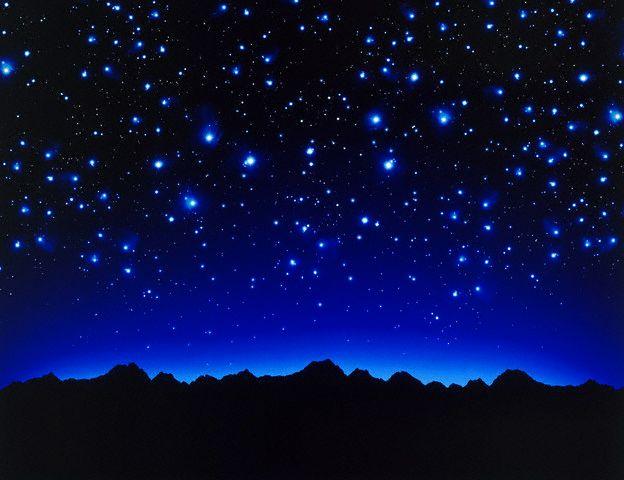 Night sky June 4, 2001
